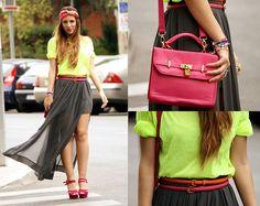 Pink (by Laura Ruiz Andujar) http://lookbook.nu/look/3613235-pink-orange