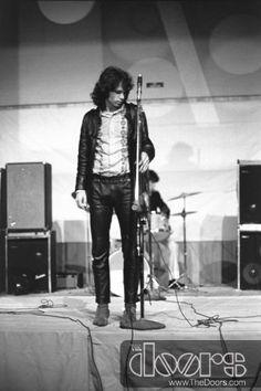 Jim Morrison by GloriaStavers