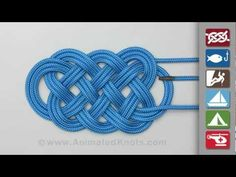 How to tie an ocean plait mat: if you've ever despaired of learning how to tie a complicated knot from a book, try this site. Step-by step animation with painless navigation will take all the guesswork out of tying intricate knots.