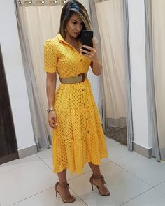 Elegant Dresses, My Wardrobe, Casual Looks, Jumper, Summer Dresses, Womens Fashion, How To Wear, Clothes, Style