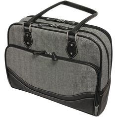 "MOBILE EDGE MEWHCS Herringbone Notebook Briefcase (14,1""; Small)"