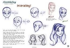 how to draw disney style - Google Search:
