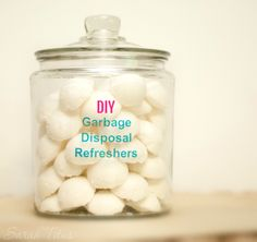 Does your garbage disposal need a little scent uplift? Chances are, with everything that goes in there, odors will begin to accumulate over time. These fantastic DIY Garbage Disposal Refreshers are…