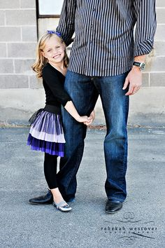 Oh, I so love this, daddy and daughter. Would be cute with the boys, too.