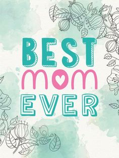 Poster - Best Mom Ever