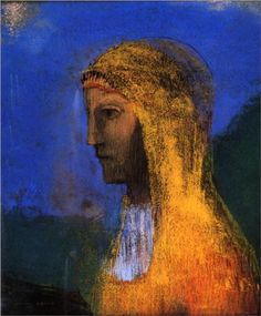 The Druidess, 1893  Odilon Redon