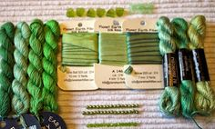 Adorn: Introduction to a new silk ribbon and new thread packs!