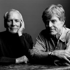 Paul Newman and Robert Redford ~ very intriguing and charismatic at any age!