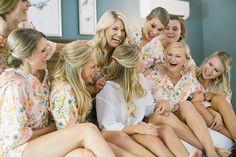 Bridesmaid Pajamas. Bridesmaid Boxers. Bridesmaids Pajama Set.