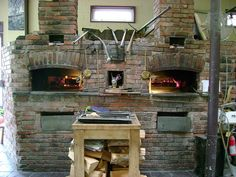 The Twin wood-fired brick ovens by teteaulevain, via Flickr
