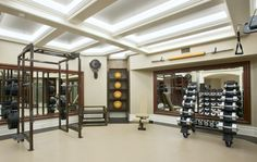 Clean home gym