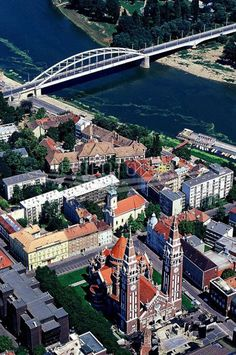 Szeged, Hungary--my paternal grandmother was born here. Land of paprika.