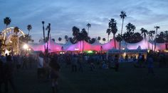 Coachella Festival, California - one day.