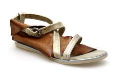 Sandales Mjus 269002 Cuir / Or - Chaussures femme Mjus nouvelle collection printemps été 2014 - Shoes Paradise