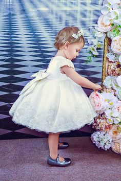 e0a85d4b08 BIBIONA Haute Couture for Kids. Red Hill Couture   luxury girls clothing · Girls  Party dresses