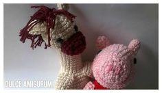 Peppa Pig y Pipo el Caballo by Dulce Amigurumi