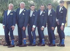 Spanish Wedding Planner. Creative Fun Wedding Idea. Socks With Initials! Wedding Inspiration For Men. Nerdier, Spain.
