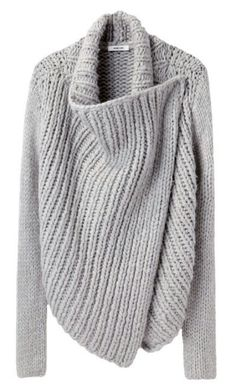 interesting piece for knitted inspiration, originally 550 dollars at shopbop (OUCH)