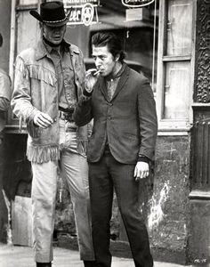 jon voight and dustin hoffman • midnight cowboy