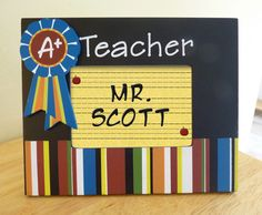 Teacher frame
