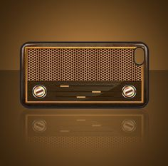#case #IPHONE #DESIGN #RADIO