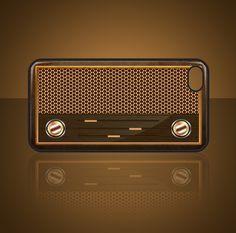 #case #IPHONE #DESIGN #RADIO