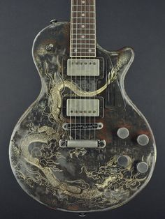 Guitar Painting, Guitar Art, Cool Guitar, Custom Electric Guitars, Custom Guitars, All Music Instruments, Beatles Poster, Bass Ukulele, Homemade Instruments