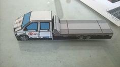 De cartolina: Esse é o caminhão reboque