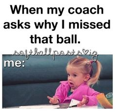 Softball and volleyball😂😂🏐🏐⚾️⚾️ Funny Softball Quotes, Volleyball Jokes, Softball Problems, Basketball Memes, Soccer Quotes, Sport Quotes, Funny Sports Memes, Netball Quotes, Sports Humor