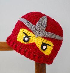 Crochet Ninjago Hats Ninja Hat Crochet Ninja Beanie , Crochet Ninjago Beanie Caps Crochet Character Red With Yellow Headwear Beanies For Men From I And You, $7.96  http://Dhgate.Com