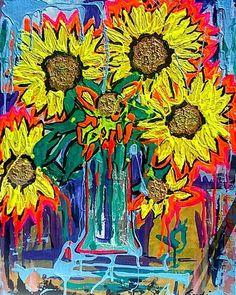 Girasoli(For more info: link in Bio)  #art #arte #Amsterdam #nature #natura #contemporaryart #Italia #italy #paintings #popart #digitalart #drawing #draw #sketch #art #artist #arte #artoftheday #artistic #artsy #illustration  #painting  #instaart #instaartist  #creative  #sketching #dibujo #instadraw #artwork #quadro #dipinti #popart#london