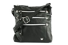 Purse King Queen Black Cross Body Bag ** Be sure to check out this awesome product.