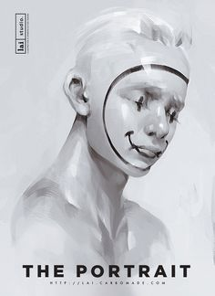 THE PORTRAIT EXHIBITION by Lai N. Nguyen, via Behance