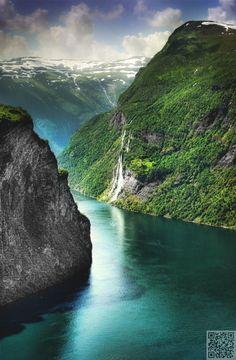 GEIRANGER, Norway.