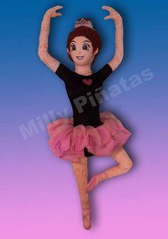 Piñata Bailarina, Ballet, Milly Piñatas