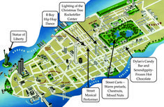 map of new york city attractions printable 15 maps update 58022775 tourist for tour