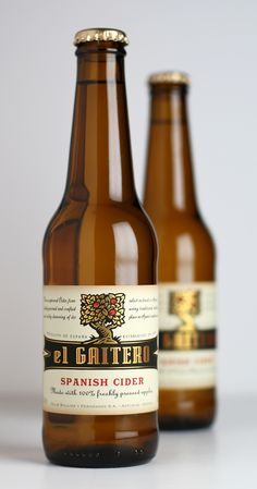 el Gaitero – leading Spanish cider producer. OK, so it's not a wine.