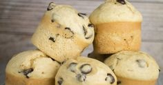 FLUFFY and EASY to make Chocolate Chip Muffins! This homemade recipe is my family's favorite! It makes delicious, moist muffins that are filled with chocolate chips! Make these light tasting yummy muffins for breakfast, snacks on the go or dessert! Oh hello beautiful chocolate chip muffins, come...