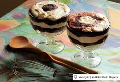 Poharas Túró Rudi My Recipes, Dessert Recipes, Recipe Boards, Cake Cookies, Panna Cotta, Paleo, Gluten Free, Pudding, Yummy Food