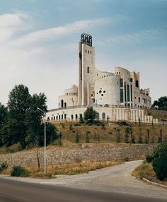 The Palace of ceremonial rites, Tbilisi, Georgia. Masterpiece of the Soviet modernism erected in 1985._Soviet Brutalist architecture  #socialist #brutalism #architecture