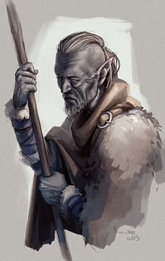 Old Vadril by TheMinttu on deviantART