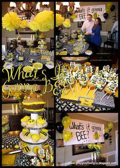 "Gender Reveal Party - ""What's It Gonna Bee?"""
