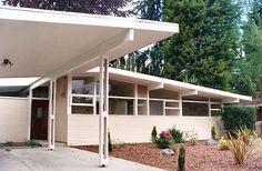 c. Early 1950s Mid-Century Modern Ranch   Architect: Omer Mithun of Mithun & Nesland   Surrey Downs, Bellevue, Washington 98004