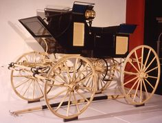 Ulysses S. Grant purchased this carriage from Meeks Carriage and Wagon Repository during his first term in the White House and rode in it to his second inauguration in 1873. Meeks bought back the carriage after Grant left office, and it was used in several parades and historic celebrations before being donated to the Smithsonian in 1968. Gift of Fearson S. Meeks. #inaug2013