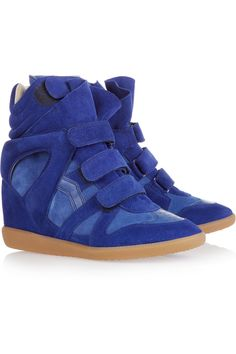 Isabel Marant | Bekett leather and suede sneakers   http://www.sneakersisabellemarant.com/isabel-marant-sneakers