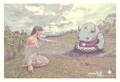 Nia y el Monstruo que nunca tuvo nombre by Victors Comics, via Behance