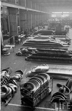 Studebaker factory, South Bend, IN. my home town.  My parents and half my relatives worked here.