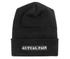 503bd832ff4 Standard Academy Issue    Black Patch    Knit Hat