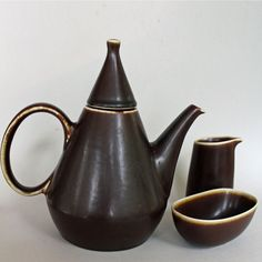 Carl Harry Stalhane, Rorstrand, Sweden. Coffee Set