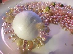 A tutorial for creating ornaments from old, faux-pearl necklaces, courtesy of Joanne Palmisano on the DIY Network.(How To Make Christmas Baubles) Sequin Ornaments, Christmas Ornaments To Make, Homemade Christmas, Christmas Projects, Holiday Crafts, Christmas Holidays, Christmas Decorations, Christmas Costumes, Felt Christmas